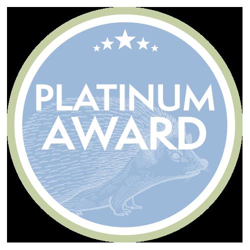 Platinum Award level | Wild about Bath